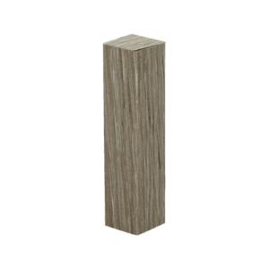 Deze hoekstukken worden in exact hetzelfde decor als de rechte folieplint geleverd. Montage kan met bijvoorbeeld Plinten & Profielen Kit.