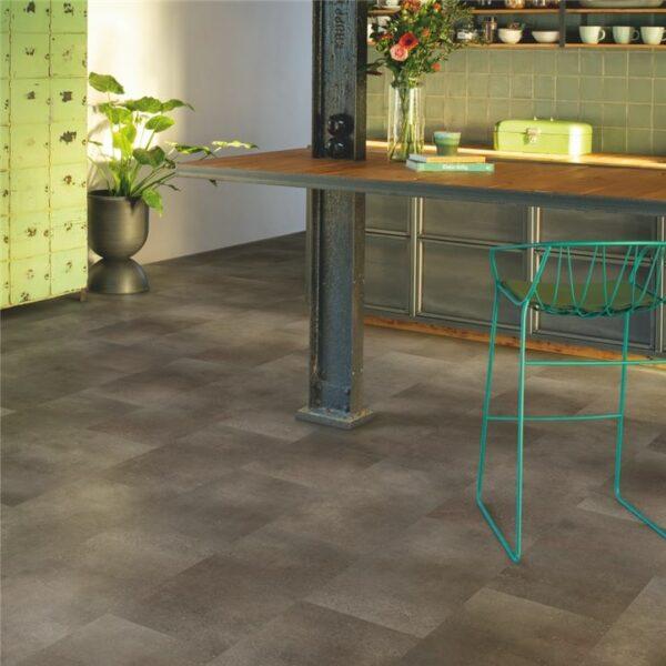 Quick-Step - Alpha Vinyl Tiles Geoxideerde rots AVST40235